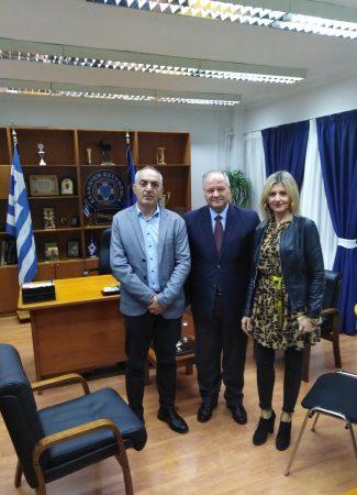 Επίσκεψη του Γ.Γ. Δημοσίας Τάξεως του Υπουργείου Προστασίας του Πολίτη Κωνσταντίνου Τσουβάλα στη Γενική Περιφερειακή Αστυνομική Διεύθυνση Δυτικής Ελλάδας