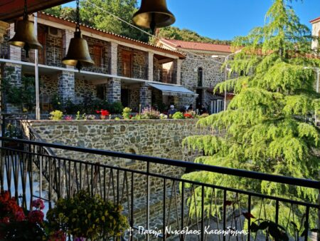 Λιτή λόγω Covid-19, η Πανήγυρις στο Παμπελοποννησιακό Ιερό Προσκύνημα του Αγίου Νικολάου στα Σπάτα Αχαΐας